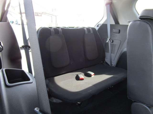 SUVでは珍しい7人乗り仕様です。