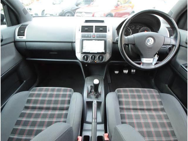 フォルクスワーゲン VW ポロ GTI 当社買取車輌 社外HDD 5速MT