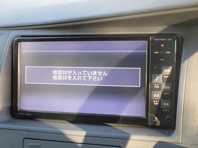 トヨタ アイシス プラタナ Vセレクション 純正SDナビ Bカメラ