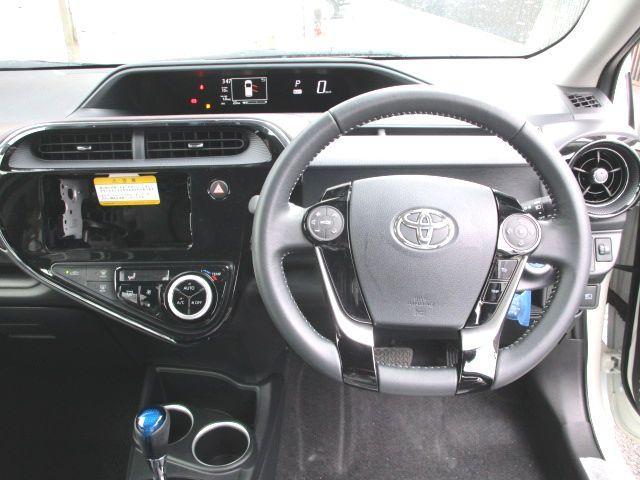 シンプルで使いやすい運転席まわり!