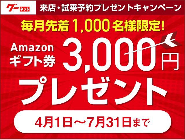 毎月抽選で1000名様限定で、Amazonギフト券3000円プレゼント!!
