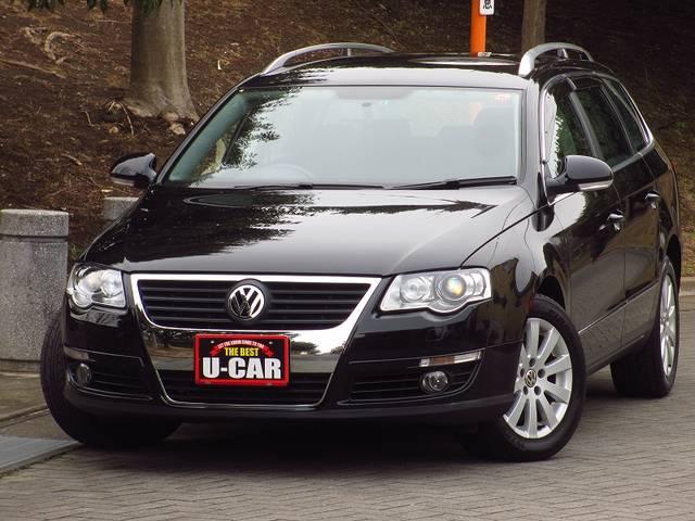 フォルクスワーゲン VW パサートヴァリアント TSIコンフォートライン ワンオーナー禁煙車 ターボ HID