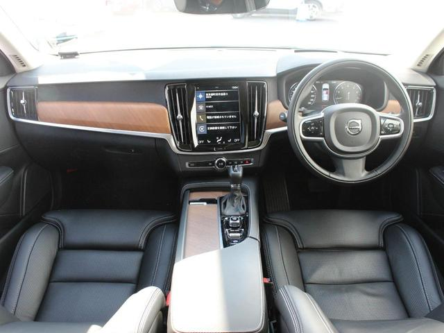 T6 AWD インスクリプション ワンオーナー 黒本革シート(4枚目)