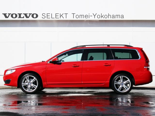 特選ワンオーナー車両:2016年V70最終モデル『T4 CLASSIC』が入荷です。New Car販売価格¥5,590,000-