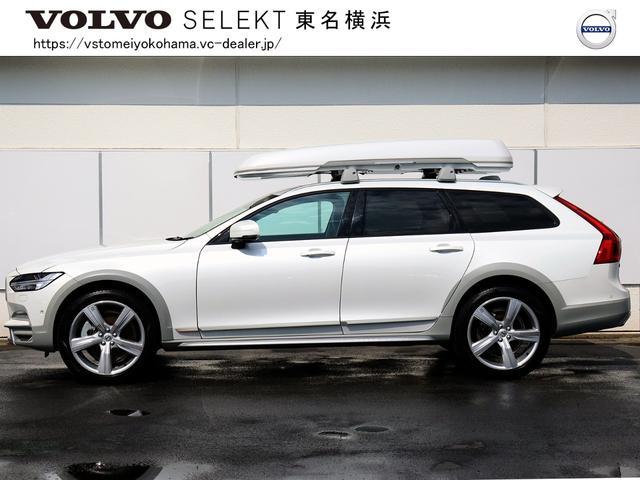 車内使用・特別限定車『V90CC オーシャンレースエディション 4WD』が入荷致しました。【グループ総在庫500台!東京・神奈川地区最大級在庫。未掲載車両もございます。まず、お問合せ下さい 】