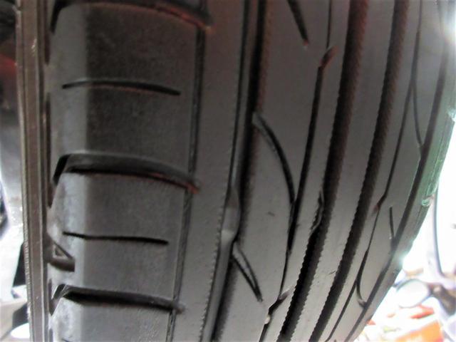 タイヤの溝も4本共に3分山程度は残っておりまして、直ぐに交換する必要ありません◎気になる方は新品に交換も承ります☆お気軽にご相談ください☆☆