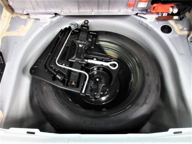 純正工具。応急用タイヤもしっかり装備。