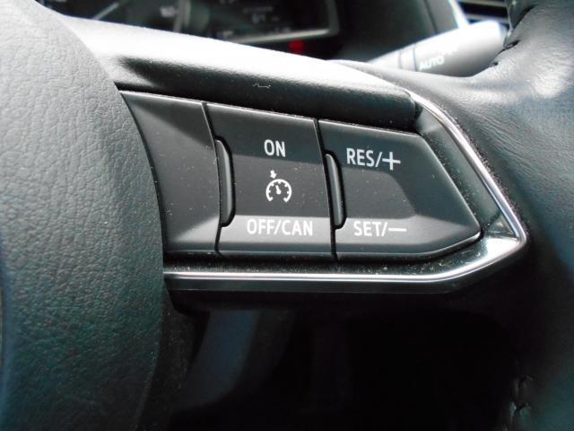 約30キロ〜100キロの範囲で走行中、アクセルを踏まずに設定速度での定速走行が可能なクールーズコントロール機構。