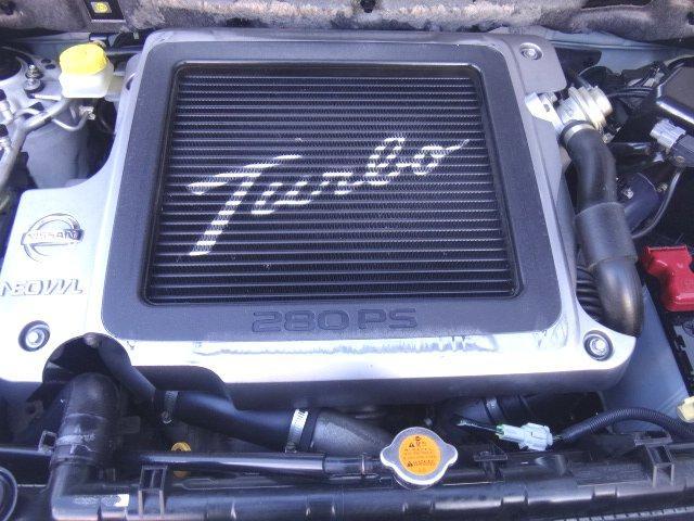 高性能なターボエンジン!NEO VVL SR20VET☆280PS(カタログ値)