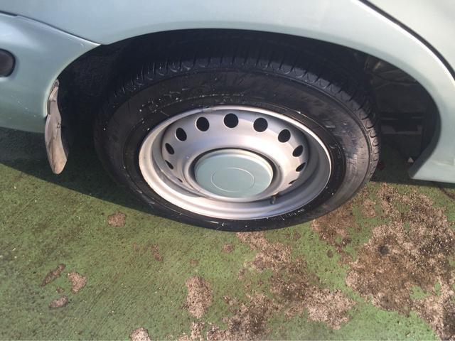 タイヤの残量はまだあります!