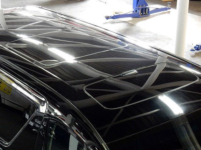 トヨタ アルファード 240S フリップダウンモニタTVナビWサンルーフ両自動ドア