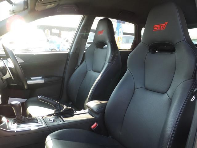 スバル インプレッサ WRX STI Aライン ナビ地デジ黒革パドルSクルコン
