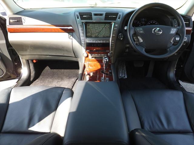 レクサス LS LS600h VerU ナビBモニタPトランク黒革エアS