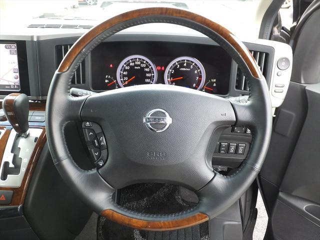 日産 エルグランド 250HS黒革ナビED SBモニタTV両自動ドア柿本マフラー