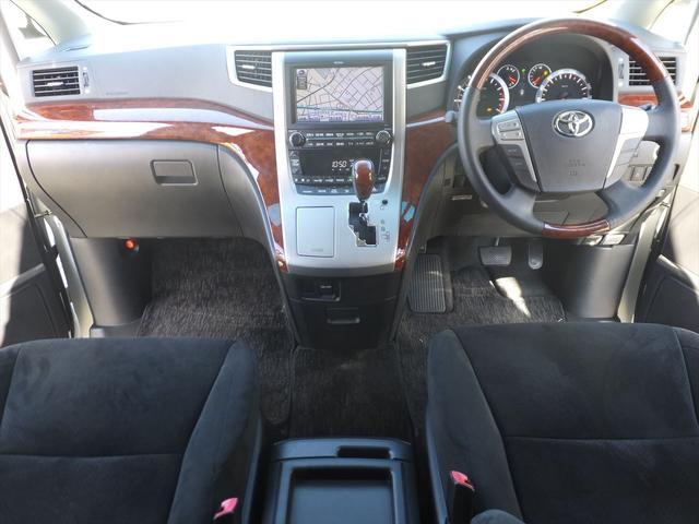 トヨタ ヴェルファイア 2.4Z プラチナムS HDD地デジ後席モニタープレミアムS