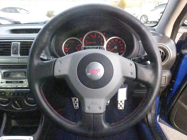 スバル インプレッサ WRX STi 4WD オーディオRスポイラ6速MTブレンボ