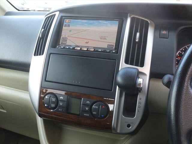 日産 セレナ 20G HDDナビ地デジBカメ両側電動ドア黒革調カバー1オナ