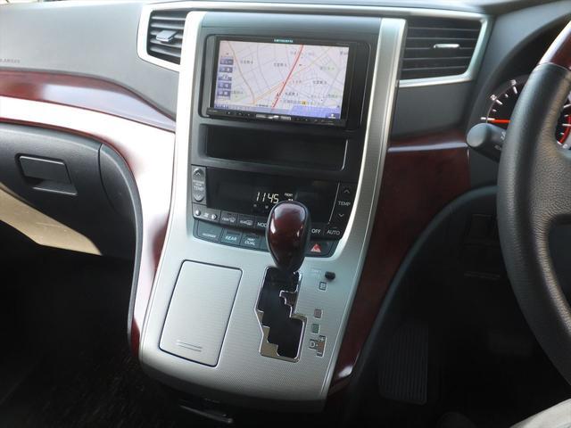 トヨタ アルファード 240S HDDナビ地デジBカメラ両側電動Sドア後席モニタ