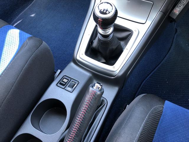 WRX STi 6速MTナビSTiシート車高調ブレンボHID(14枚目)