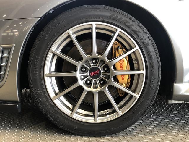 WRX STi 6速MTナビSTiシート車高調ブレンボHID(19枚目)