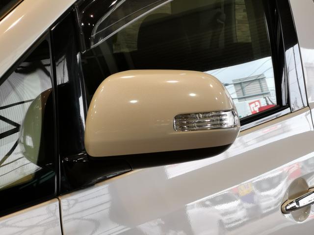 オシャレで後方車からも確認しやすく安全なウィンカーミラー付き!