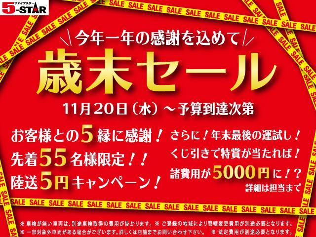 ベースグレード 6MTナビBカメTVキーレス社外マフラ純AW(2枚目)
