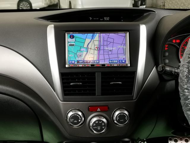 WRX STI Aライン イクリプスナビBカメラ地デジ黒半革バケットシート電動シートETCプッシュSクルコンHIDオートライト純正AWタワーバー(13枚目)
