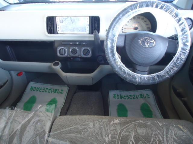 トヨタ パッソ Xユルリ メモリーナビ地デジETC スマートキー 1年保証