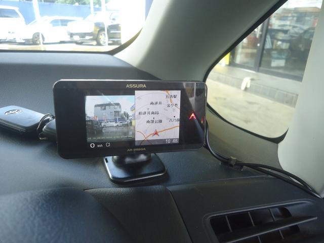 ドライブレコーダーの画像はこのモニターに表示されます