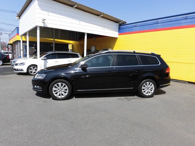 フォルクスワーゲン VW パサートヴァリアント TSIコンフォートライン 社外ナビTV HID キーレス