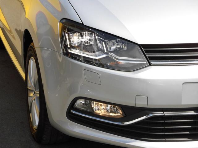 フォルクスワーゲン VW ポロ TSIハイライン 後期型 LEDヘッドライト BMT