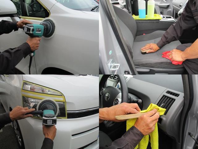 ルームクリーニング実地!車体の磨きや車内清掃を丁寧に行っていますおります!是非一度お車をご確認下さい♪