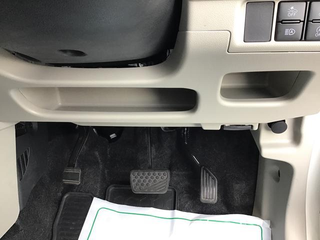 運転席側足元収納