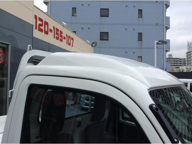 ダイハツ ハイゼットトラック ハイルーフ エアコンパワステ 未使用車