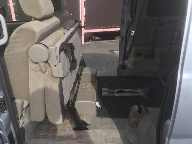 ダイハツ アトレーワゴン 福祉車両  電動ウィンチ リアシート付き