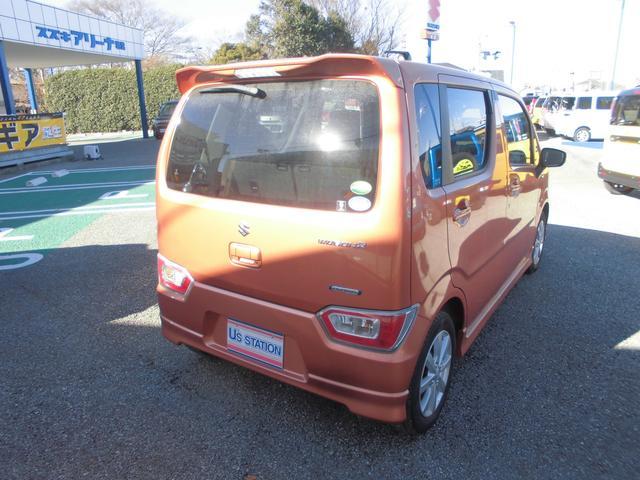 車体色はオレンジです。