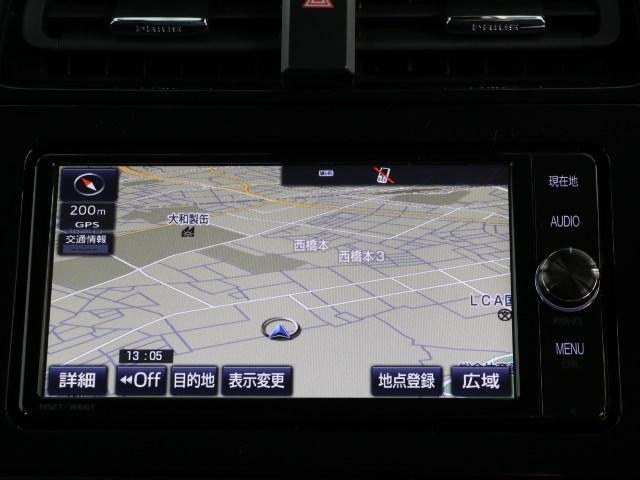 トヨタ純正SDナビゲーション、操作も簡単です♪