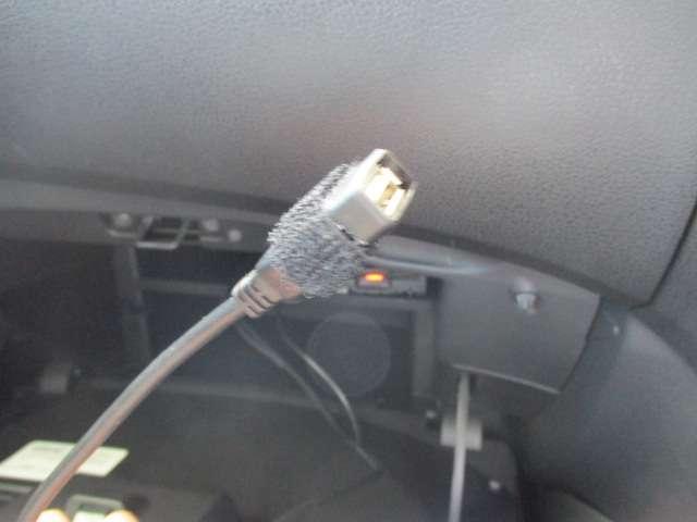 USBケーブルを繋げれば、充電も可能です!