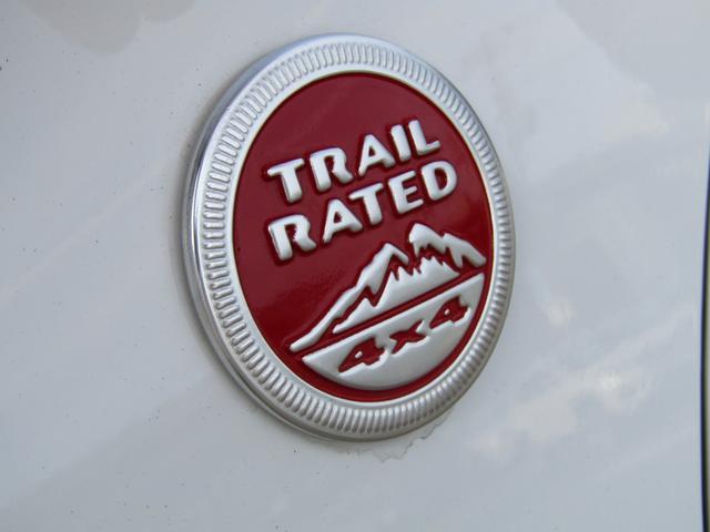 Trail Ratedのバッジがついてます!!