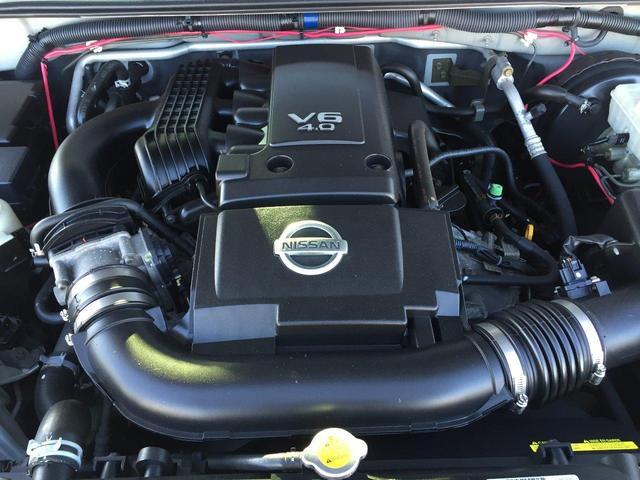 米国日産 フロンティア クルーキャブ 4WD バックカメラ HDDナビ ETC AW