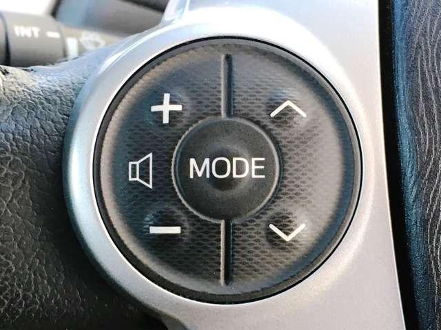 【ステアリングスイッチ】 オーディオの操作が手元でできます♪前を見たまま操作できるので安心です!