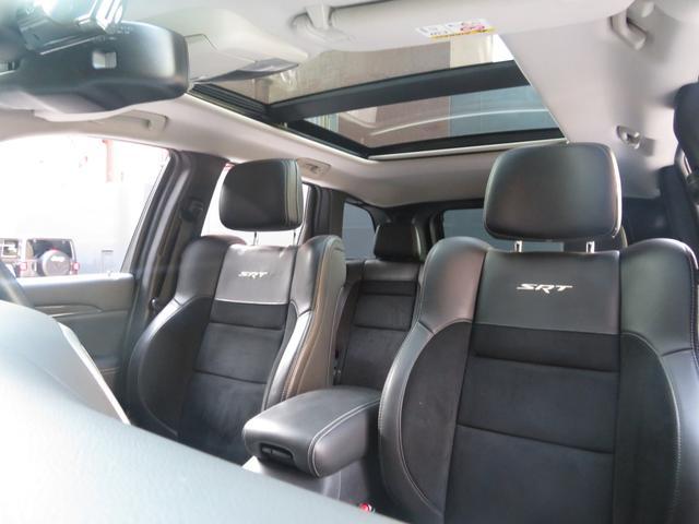 SRT8 6.4L HEMI SRTブラックホイール Jeep認定中古車(6枚目)