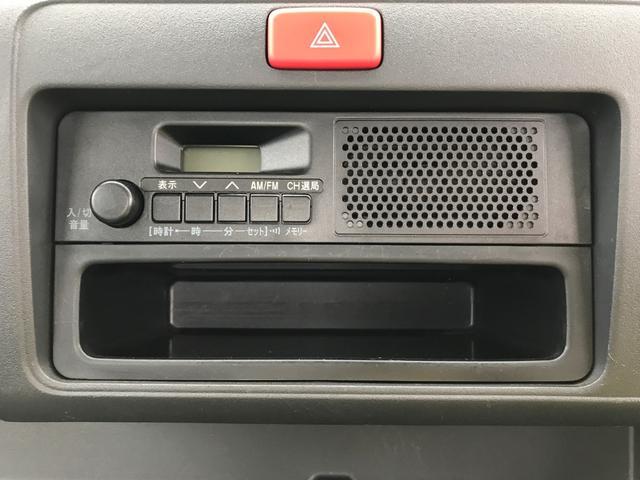 FMAMラジオ付きです