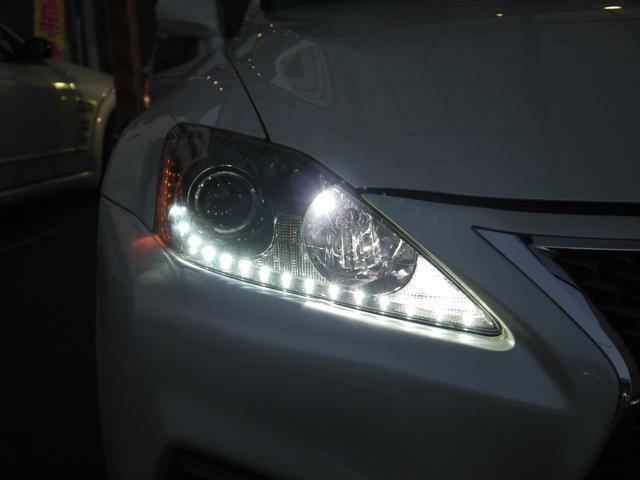 レクサス IS F MCRデモカー トータルチューン 黒革シート 雑誌掲載車