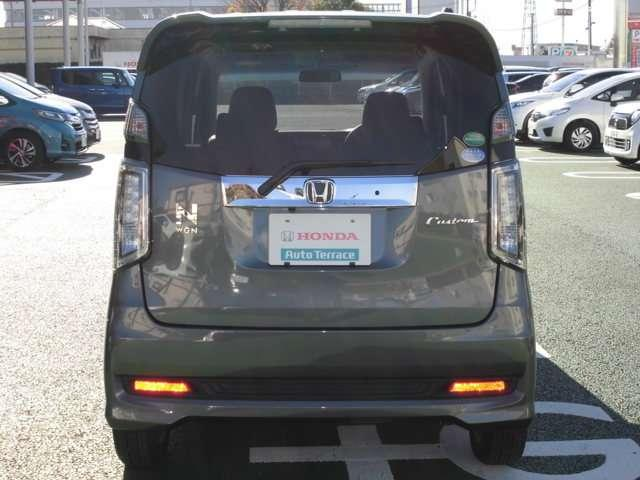ホンダ N-WGNカスタム G・ターボパッケージ デモカー ナビ ETC Bカメラ VSA