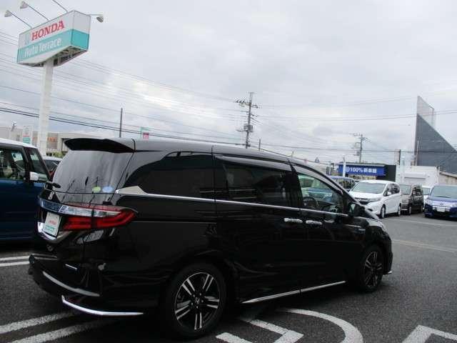 ハイブリッドアブソルート・ホンダセンシングEXパック 試乗車(4枚目)