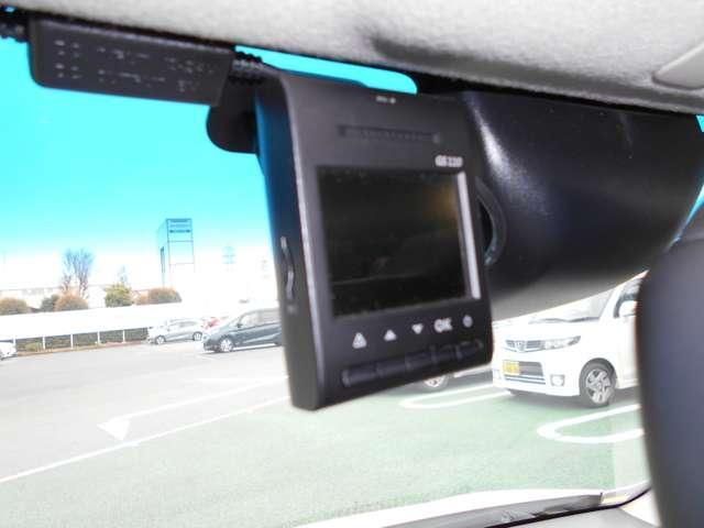 ドライブレコーダー付。万が一の事故の映像を記録できます。