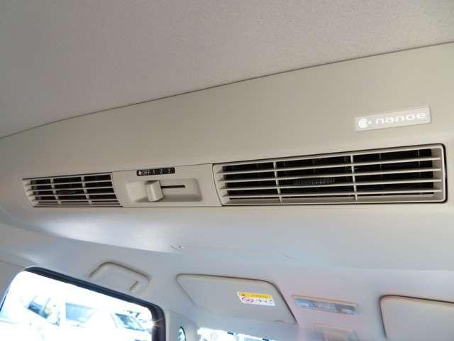 リアシートでもエアコンの風量調節ができます!