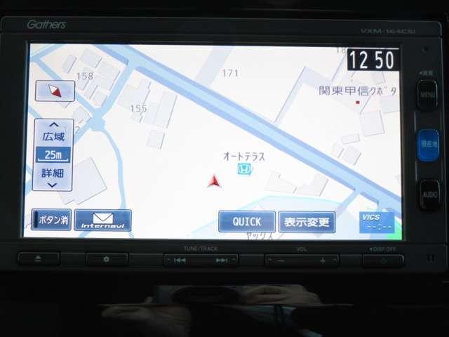 ホンダ純正Gathersナビ搭載車☆メモリータイプのナビは動きも早く快適です♪♪♪ ワンセグTVの視聴も可能です♪カーライフをさらに快適に◎