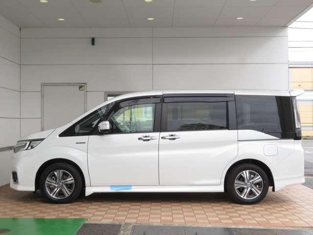 スパーダハイブリッド G・EX ホンダセンシング 大型ナビ 運転支援 両側電動スライドドア ホンダ認定中古車 シートヒーター Bluetooth対応 純正AW(6枚目)